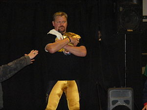 The Franchise Shane Douglas as BTW Champion, C...