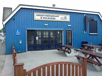 Harbour Park - Image: The Galley Restaurant At Harbour Park Littlehampton