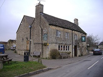 Down Ampney - Image: The Masons Arms geograph.org.uk 331140