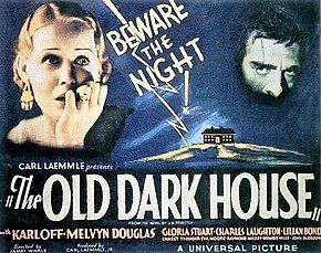 Description de l'image The Old Dark House 1932 poster.jpg.