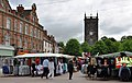 The Parish Church - St. Modwen's- overlooks the market square - geograph.org.uk - 1710201.jpg