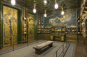 Freer Gallery of Art - The Peacock Room by Whistler