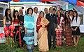 The President, Smt. Pratibha Devisingh Patil visited the Handloom & Handicrafts exhibition at Aizawl, Mizoram on September 23, 2010.jpg