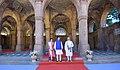 The Prime Minister, Shri Narendra Modi and the Prime Minister of Japan, Mr. Shinzo Abe visit the 'Sidi Saiyyid Ni Jaali', in Ahmedabad, Gujarat on September 13, 2017 (2).jpg