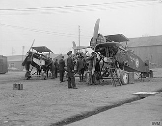 No. 11 Squadron RAF - Image: The Royal Flying Corps on the Western Front, 1914 1918 Q11963