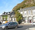 The Royal Madoc Arms Hotel and the Town Hall, Tremadog - geograph.org.uk - 272712.jpg