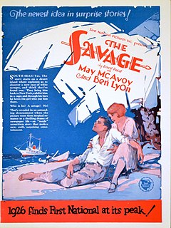 <i>The Savage</i> (1926 film) 1926 film by Fred C. Newmeyer