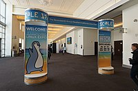 The Seventeenth Annual Southern California Linux Expo (SCALE 17x) entrance banner, March 2019.jpg