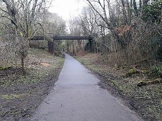 Coalport branch line