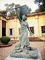 The Statue of Liberty Leading the People in the Dupleix Palace or the Institut De Chandernagore, West Bengal, India.jpg