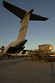 The Submarine Rescue Chamber (SRC) is loaded aboard an Air Force Reserve C-5A Galaxy at Naval Air Station North Island, Calif 000924-N-YM689-005.jpg