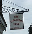 The Taverners Club Sign - geograph.org.uk - 1490211.jpg