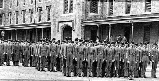 The USMA Corps in mid 1800s