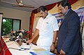 The Union Minister for Shipping, Shri G.K. Vasan releasing the results of the First All India Entrance Examination of the Indian Maritime University, in Chennai on June 27, 2009.jpg