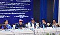 """The Union Minister for Tribal Affairs, Shri Jual Oram addressing the meeting of the Ministers and Principal Secretaries of the States to review the """"Prevention of Civil Rights & Prevention of Atrocities Act's"""", in New Delhi.jpg"""