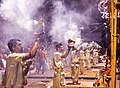 The ancient Hindu ritual Gangaarti.jpg