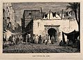 The arab bath-house in the marketplace, Cairo, Egypt. Wood e Wellcome V0012303.jpg