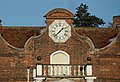 The clock on Christchurch Mansion - geograph.org.uk - 1751806.jpg