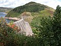 The dam of Llyn Clywedog Reservoir - geograph.org.uk - 234806.jpg