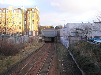 Morningside Road railway station - Image: The former Morningside Station geograph.org.uk 332827