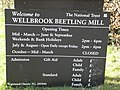 The information board in the car park at Wellbrook Beetling Mill,Cookstown - geograph.org.uk - 1824183.jpg