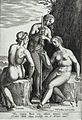 The three Fates. Engraving by Philipp Galle after his design Wellcome L0028801.jpg
