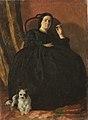 Theodor Aman - Portret de femeie cu caine.jpg
