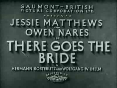 Title screen for There Goes the Bride There Goes the Bride (1932 film) 01.png