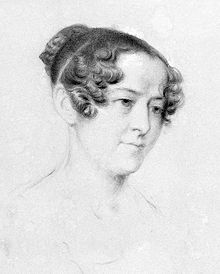 Lady Jane Franklin portrait, 1838