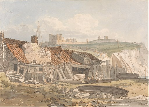 Thomas Girtin - Dover - Google Art Project
