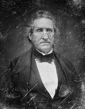 Thomas Hart Benton (politician) - Senator Benton between 1844 and 1858 by Mathew Brady