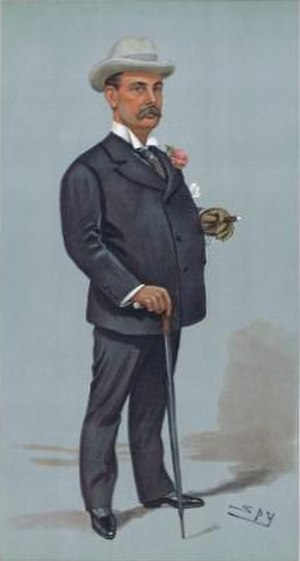 Thomas Salter Pyne - Caricature of Pyne by Spy for Vanity Fair, 1900