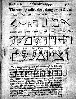 Transitus Fluvii Occult alphabet