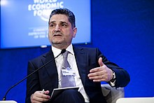 Tigran Sargsyan - World Economic Forum on Europe 2011.jpg