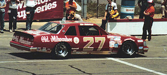 Raymond Beadle - Tim Richmond driving Beadle's No. 27 car in 1983.
