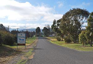 Tintaldra - Image: Tintaldra Town Entry Sign
