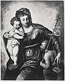 Tintoretto - Madonna con Bambino e san Giovannino, Collezione Benedict.jpg