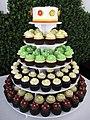 Tiny Flower Wedding Cupcakes (4761756801).jpg