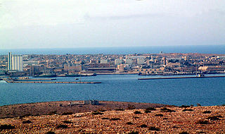 Tobruk Place in Cyrenaica, Libya
