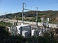 Tokaido Shinkansen Train radio relay antenna & booster.jpg
