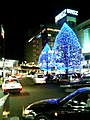 Tokorozawa station Winter illumination 2005.jpg
