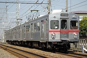 Tōkyū Ikegami Line - Image: Tokyu 7910F