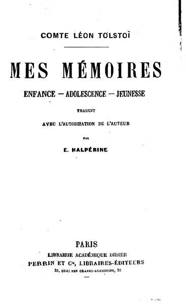 File:Tolstoï - Mes mémoires.djvu