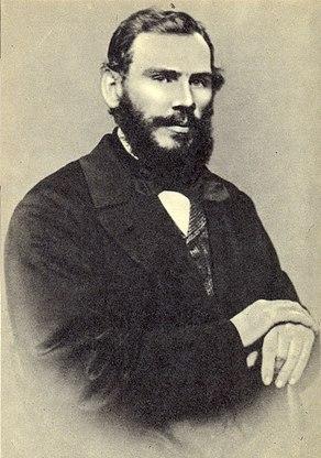 Л.Н.Толстой, 1862. Фотография М.Б.Тулинова. Москва