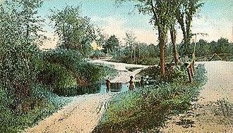 Barrington, New Hampshire - Tom Ham Brook c. 1910