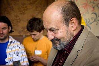 English: Tomáš Halík Česky: Tomáš Halík