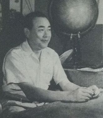 Sadatoshi Tomioka - Sadatoshi Tomioka in 1951