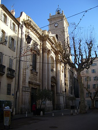 Toulon Cathedral (11th to 18th centuries) Toulon Cathedral Exterior.jpg