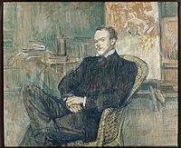 Toulouse-Lautrec - Paul Leclercq, fondateur de la revue Blanche, 1897.jpg
