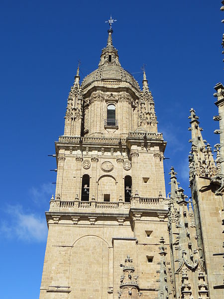 File:Tower New Cathedral Salamanca.JPG